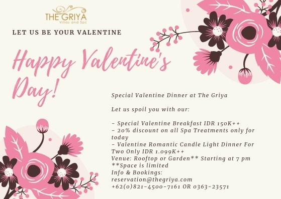 The Griya - Happy Valentine