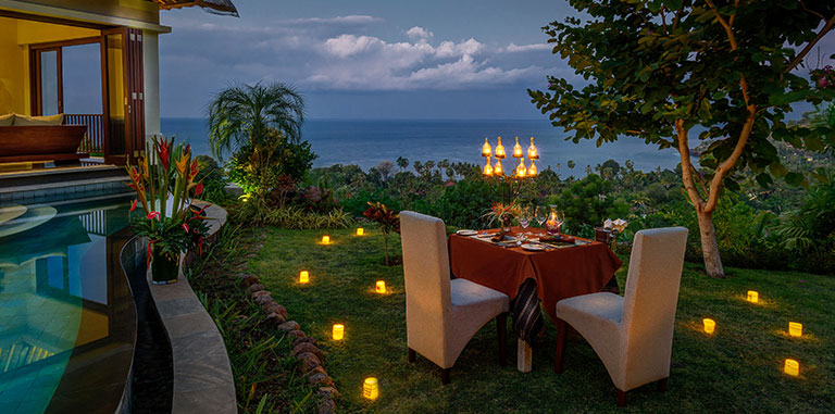 Romantic hideaway in Bali